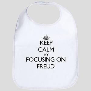 Keep Calm by focusing on Freud Bib