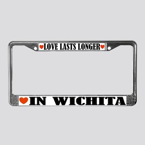 Wichita Kansas License Plate Frame