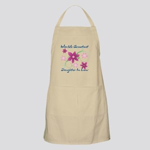 World's Greatest Daughter-In-Law (Flowery) Apron