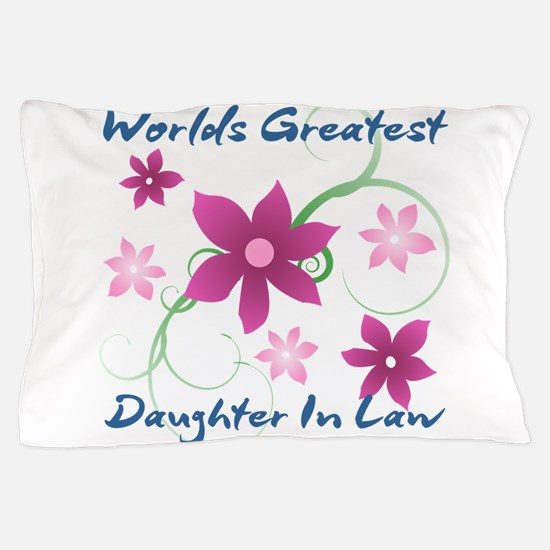 World's Greatest Daughter-In-Law (Flow Pillow Case
