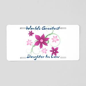 World's Greatest Daughter-I Aluminum License Plate