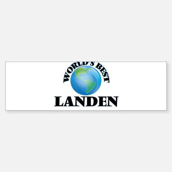 World's Best Landen Bumper Bumper Bumper Sticker
