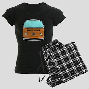 camper van Women's Dark Pajamas
