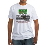 John Kerry the Waffle House Fitted T-Shirt