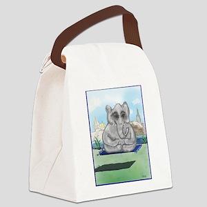 GO ZEN, BABY Canvas Lunch Bag