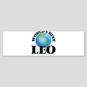 World's Best Leo Bumper Sticker