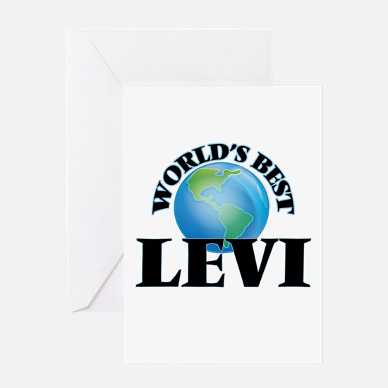 World's Best Levi Greeting Cards