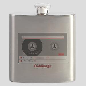 The Goldbergs Cassette Tape Flask