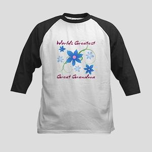 World's Greatest Great Grandma (Fl Baseball Jersey