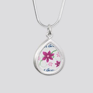 World's Greatest Great Grandma (Flowery) Necklaces