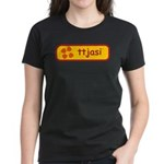 ttjasi Women's Dark T-Shirt