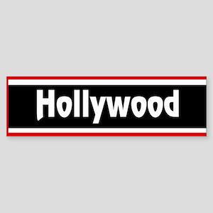 Hollywood Bumper Sticker