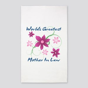 World's Greatest Mother-In-Law (Flo 3'x5' Area Rug