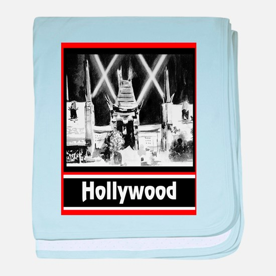 Hollywood baby blanket