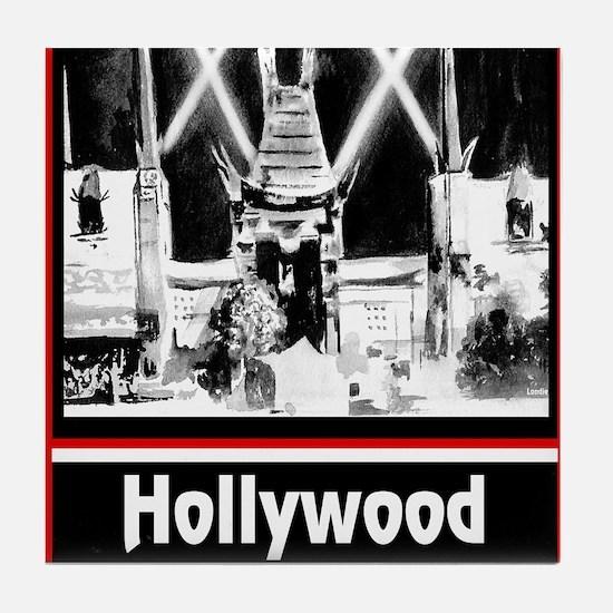 Hollywood Tile Coaster