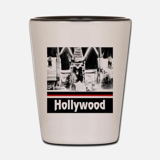 Hollywood Shot Glass