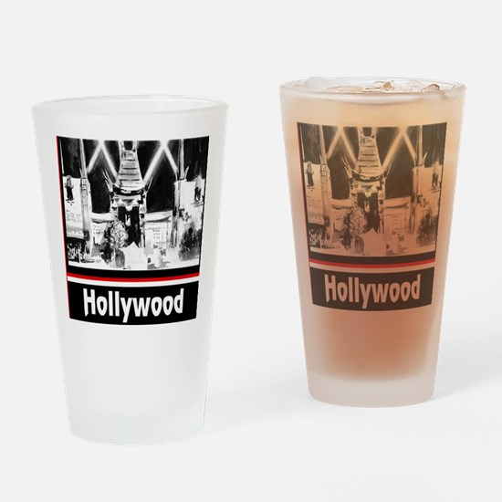 Hollywood Drinking Glass