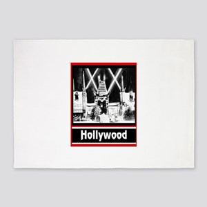 Hollywood 5'x7'Area Rug