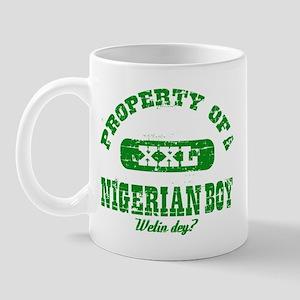 Property of Nigerian boy Mug