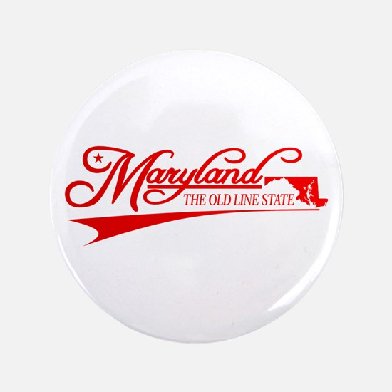 """Maryland State of Mine 3.5"""" Button"""