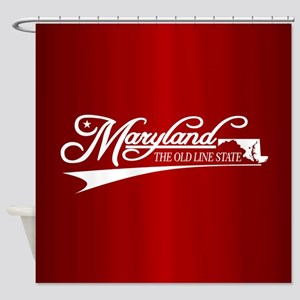 Maryland State of Mine Shower Curtain
