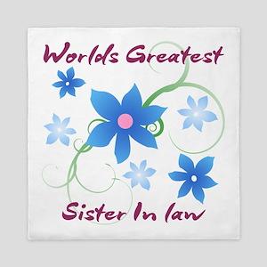 World's Greatest Sister-In-Law (Flower Queen Duvet