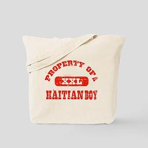 Property of a Haitian Boy Tote Bag