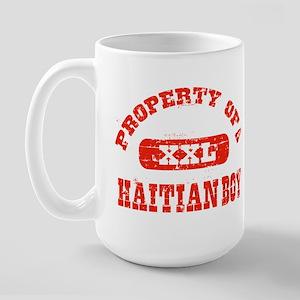 Property of a Haitian Boy Large Mug