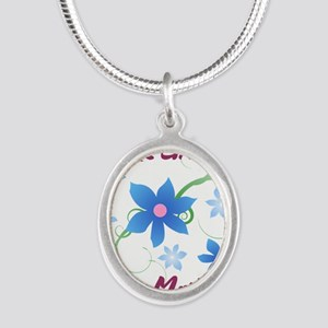 World's Greatest Step Mother (Flowery) Necklaces
