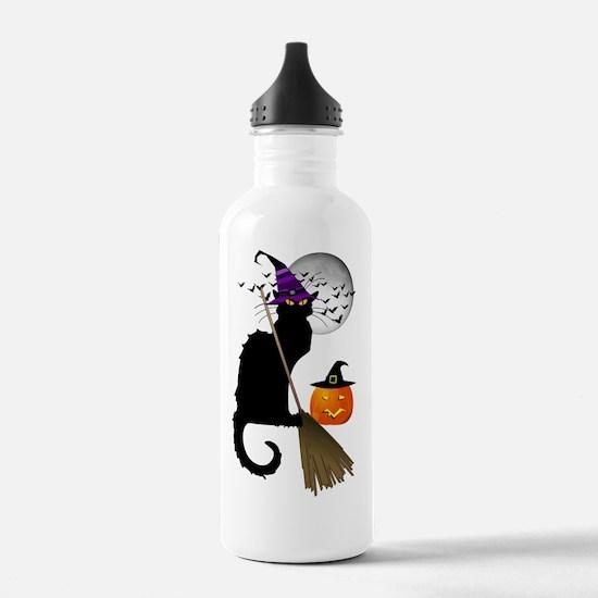 Le Chat Noir - Hallowe Water Bottle