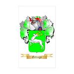 Gittings Sticker (Rectangle 50 pk)