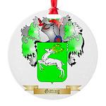 Gitting Round Ornament