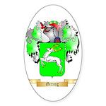 Gitting Sticker (Oval 50 pk)