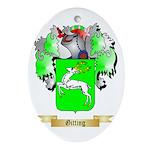 Gitting Ornament (Oval)
