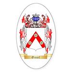 Gissel Sticker (Oval 50 pk)