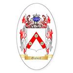 Gisbert Sticker (Oval 10 pk)