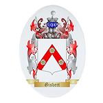 Gisbert Ornament (Oval)