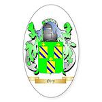 Giry Sticker (Oval)