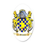 Girones Oval Car Magnet