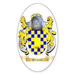 Girones Sticker (Oval 50 pk)