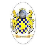 Girona Sticker (Oval)