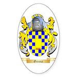 Girona Sticker (Oval 10 pk)