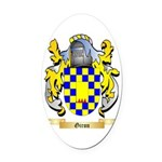 Giron Oval Car Magnet