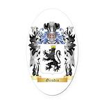 Girodin Oval Car Magnet