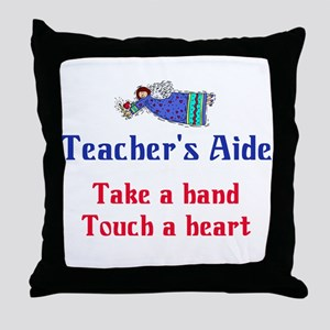 Teacher's Aide Throw Pillow