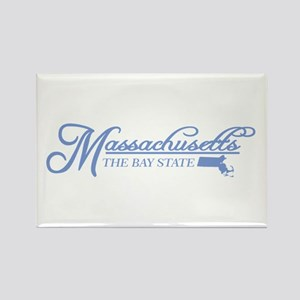 Massachusetts State of Mine Magnets