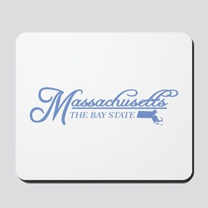 Massachusetts State of Mine Mousepad