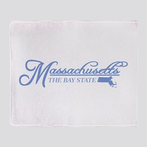 Massachusetts State of Mine Throw Blanket