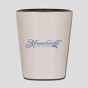 Massachusetts State of Mine Shot Glass