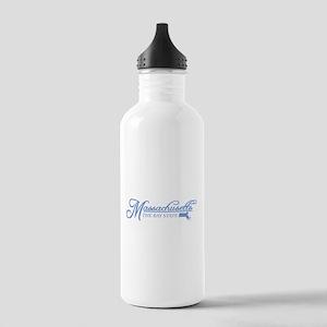 Massachusetts State of Mine Water Bottle